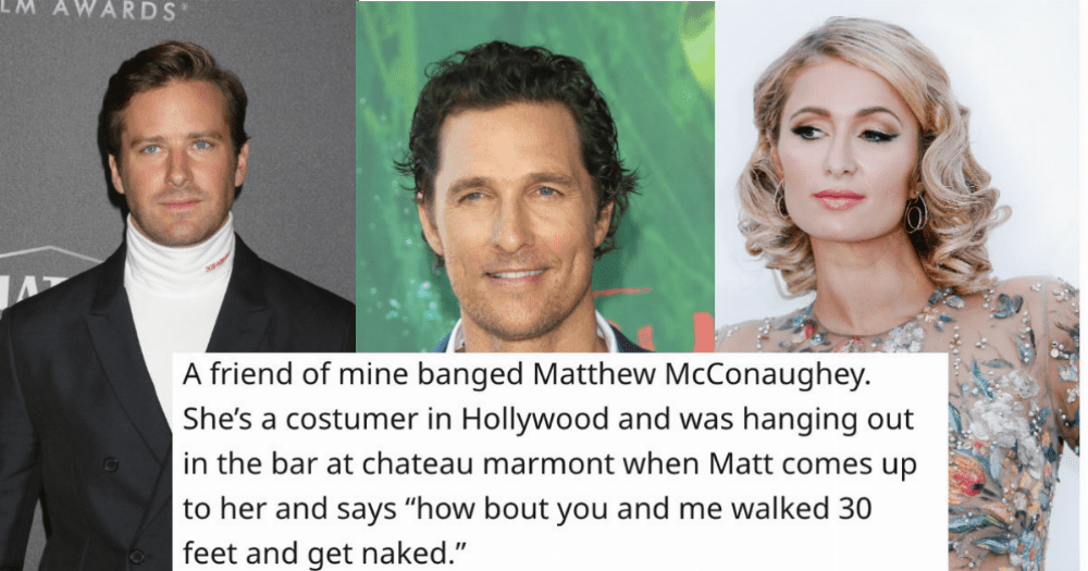 26 stories about normal people who dated or hooked up with celebrities.