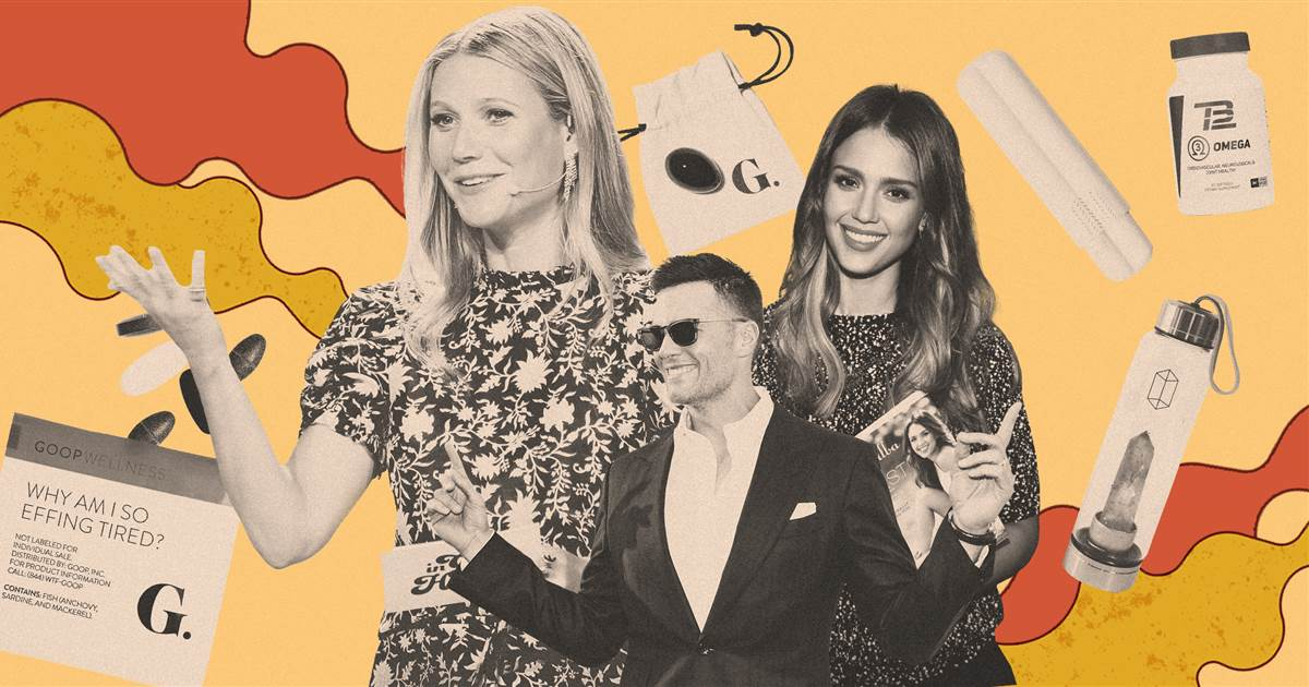Celebrities like Gwyneth Paltrow made the 2010s the decade of health and wellness misinformation