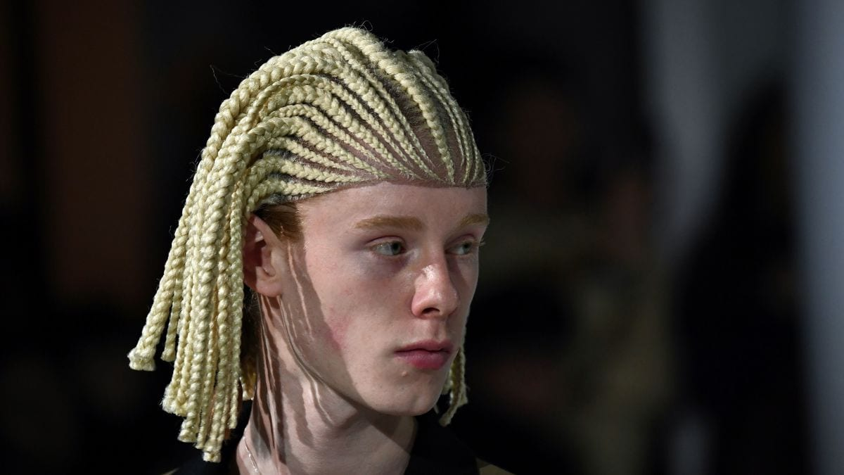 Come Again? Commes des Garcons Ignites Cultural Appropriation Controversy with Cornrow Wigs
