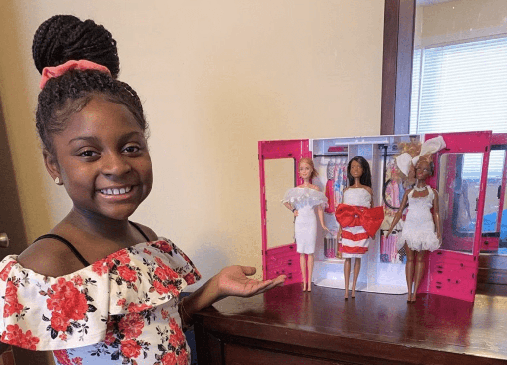 9-Year-Old Fashion Designer Catches The Attention of Barbie's Mattel – BOTWC