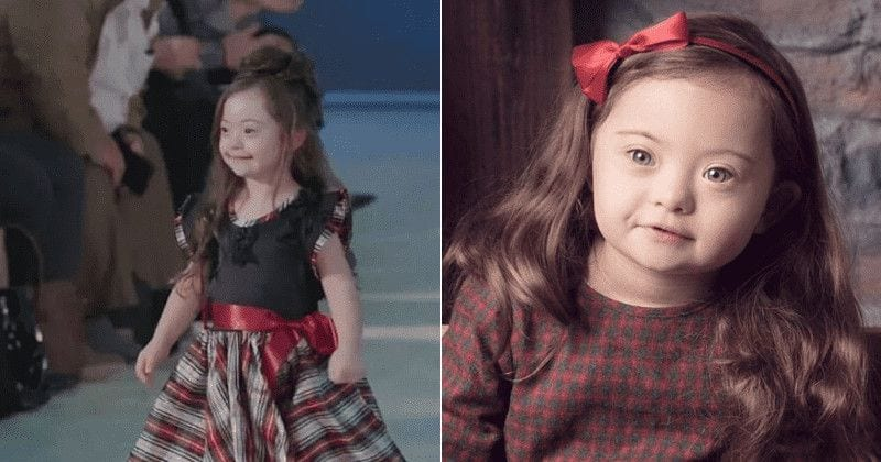 4-Year-Old Girl With Down Syndrome Walks The Runway In Fashion Show And It's Simply Heartwarming