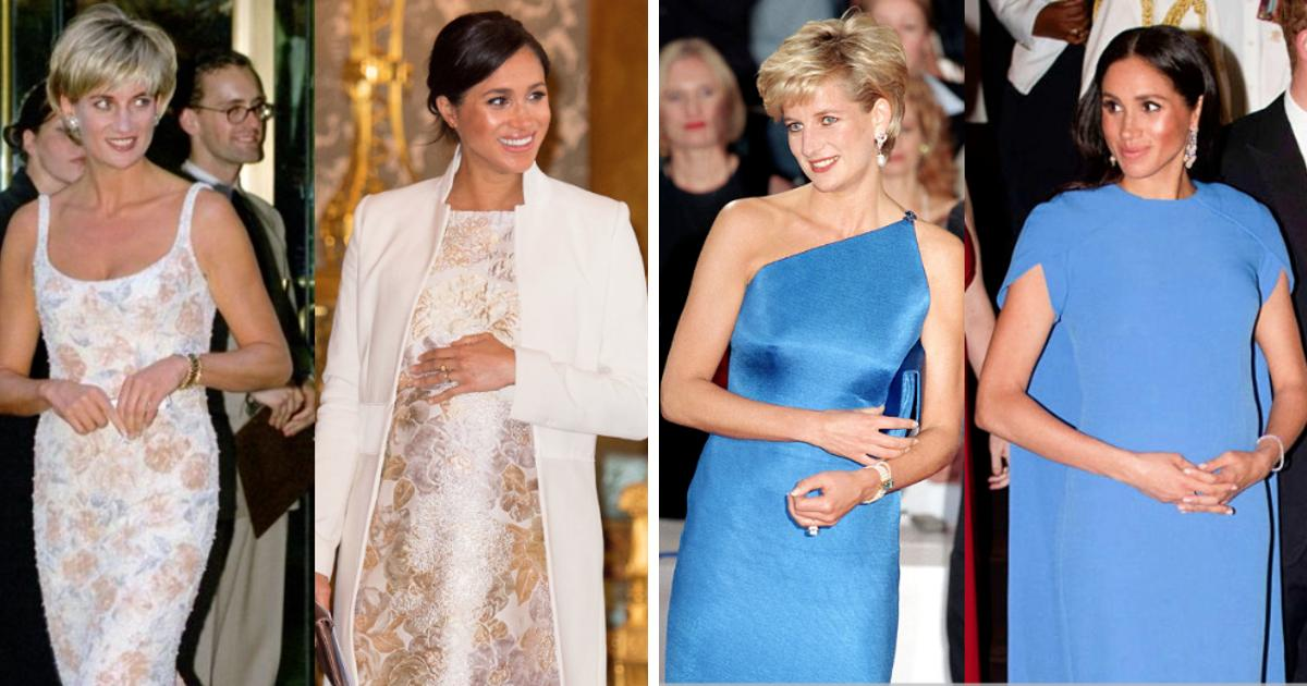 Royal Rebels: Meghan Markle Has Channeled Princess Diana In Fashion And Breaking Protocol