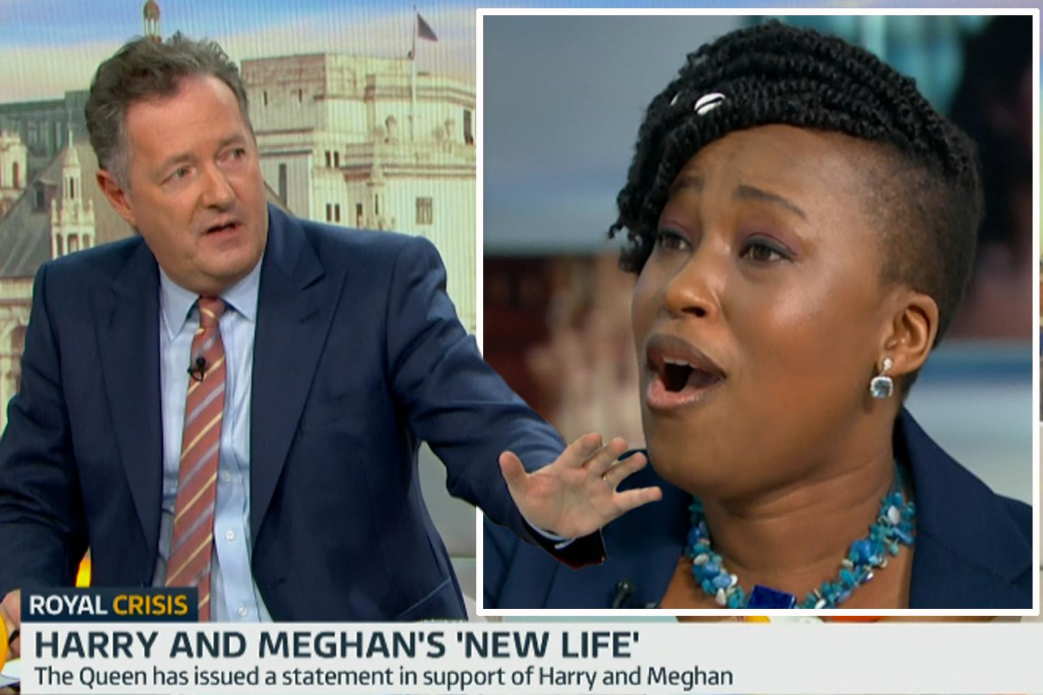 GMB guest slams Morgan for 'personal vendetta' against Meghan Markle