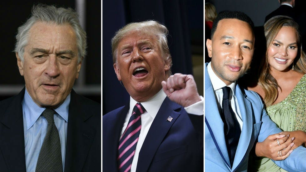 Memorable Trump feuds with celebrities from 2019