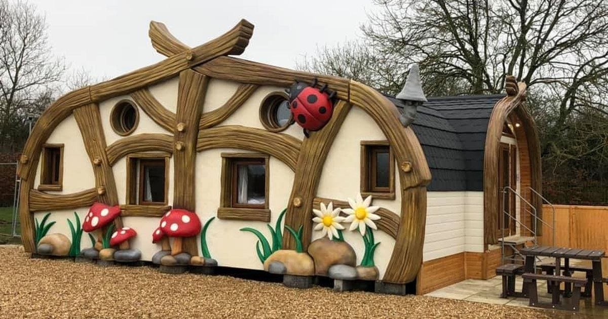 First look at fairy-style luxury cabins set to open at Sundown Adventureland – Lincolnshire Live