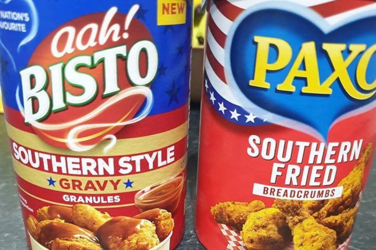 Asda currently offers southern-style Bisto sauce as well as Paxo fried hen breadcrumbs that 'tastes like KFC'