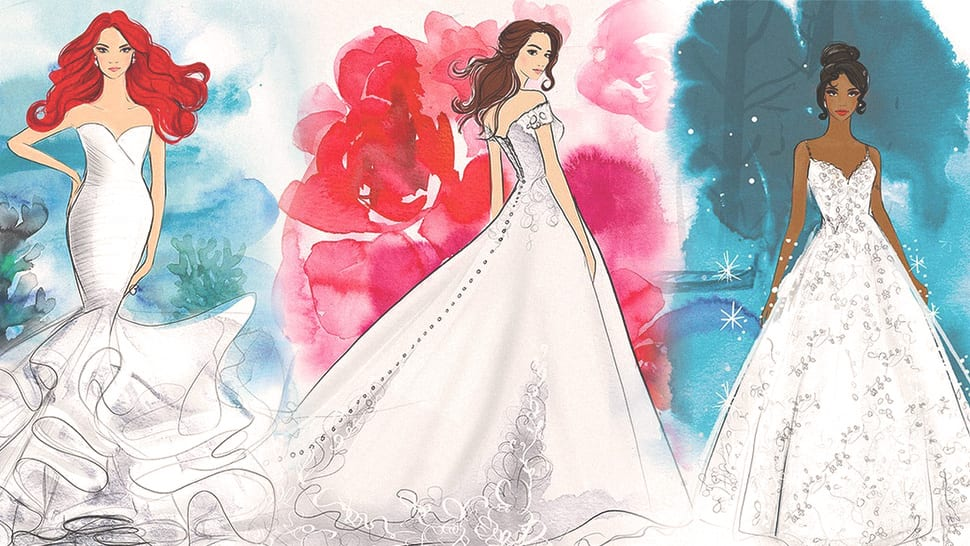 Disney Is Launching a Wedding Gown Collection Inspired by the Iconic Princesses