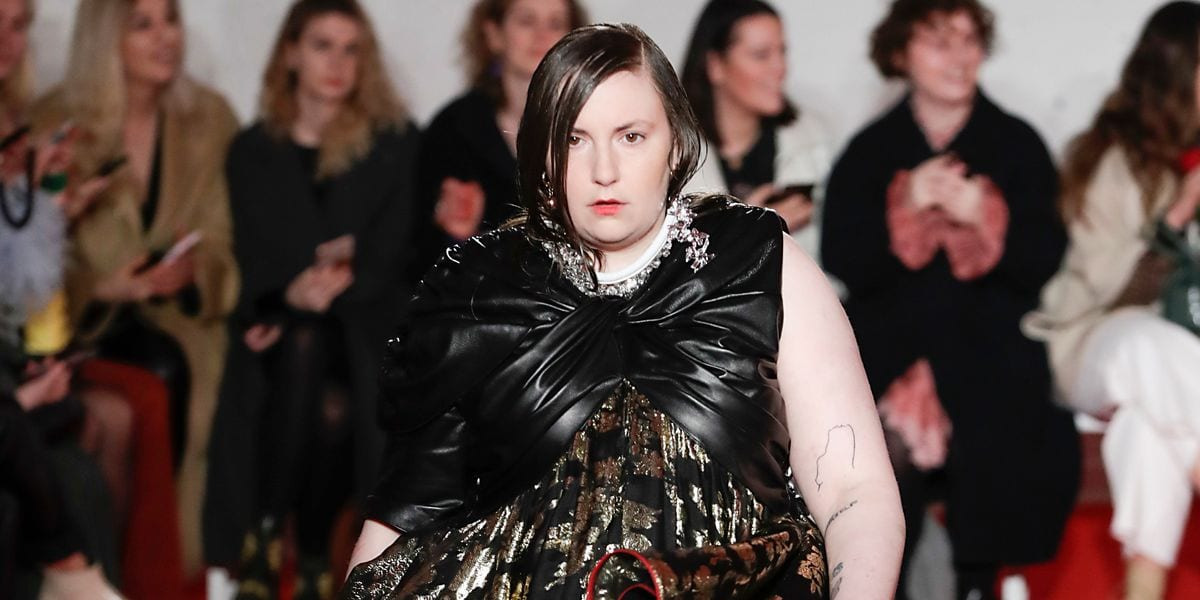 Lena Dunham Is a Model Now