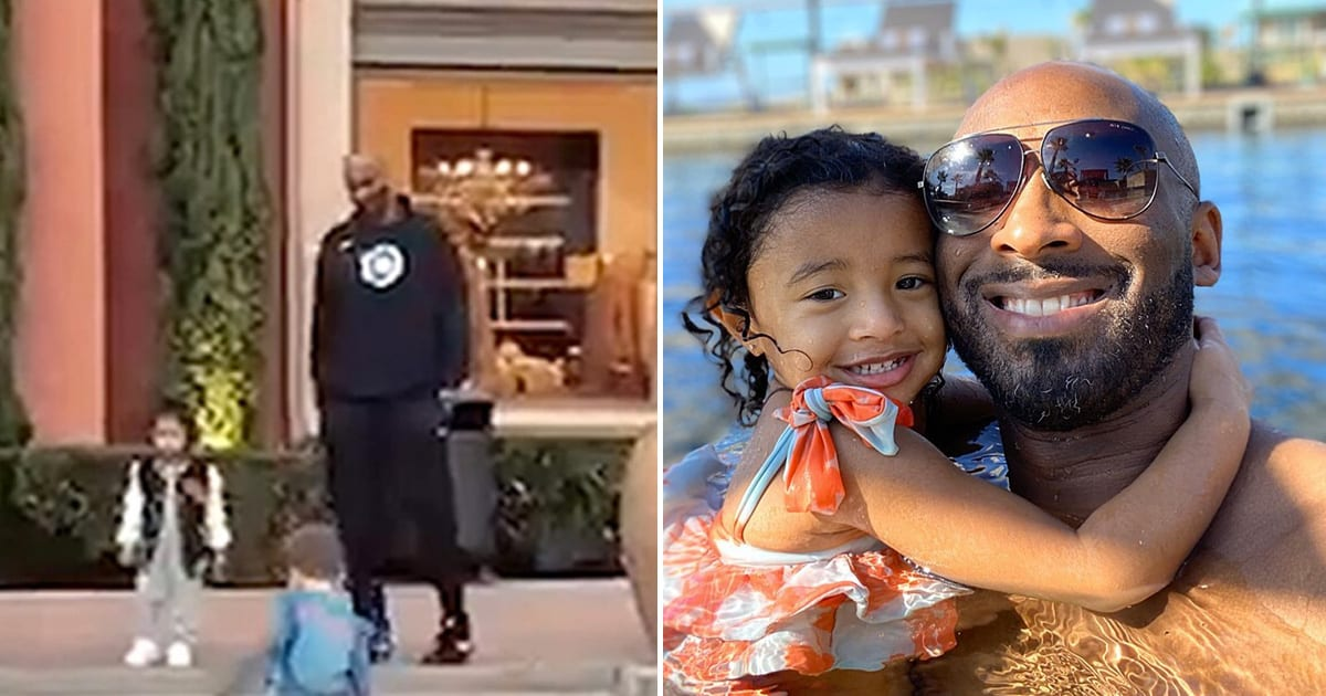 Kobe Bryant Spotted on a Date With 3-Year-Old Child Bianka the Day Before His Terrible Death