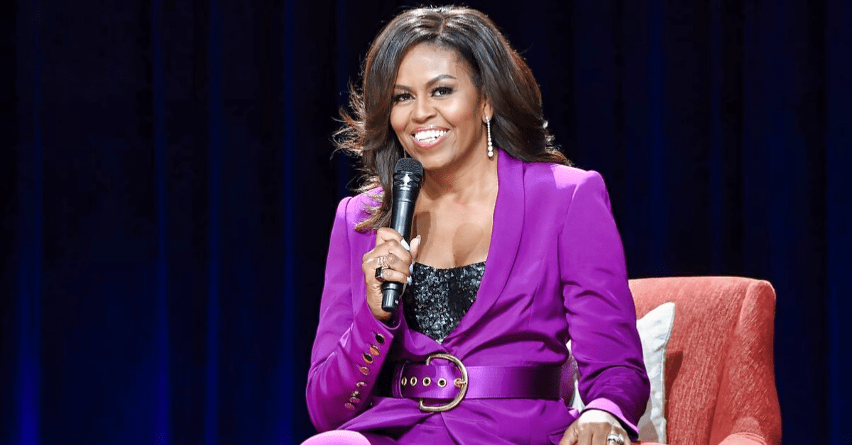 "Michelle Obama exposes exactly how she became referred to as the ""Initial Girl with an unpredictable taste in style"""