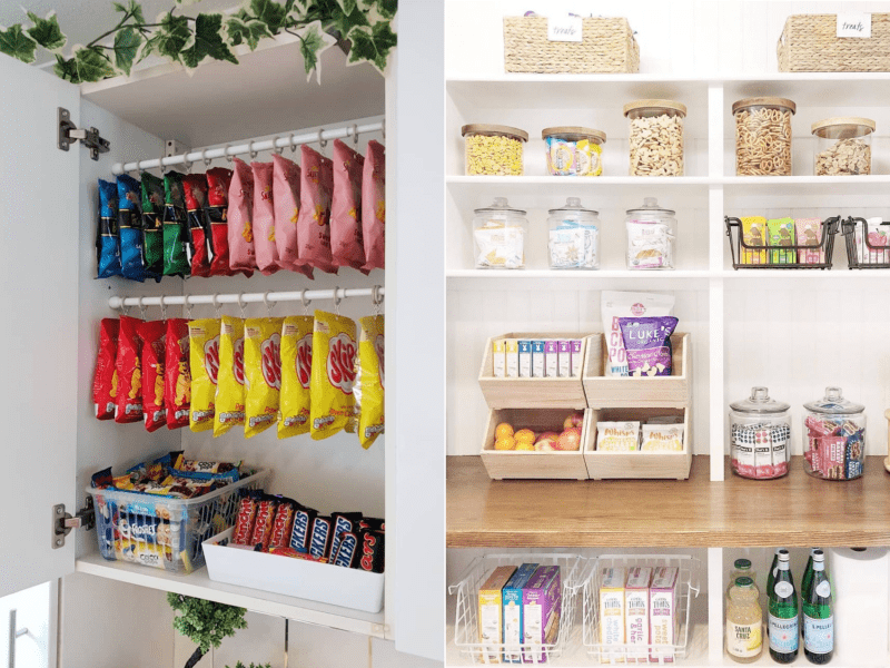 15 stunning photos of organized pantries as well as cooking areas that will certainly motivate you to declutter while social distancing in your home