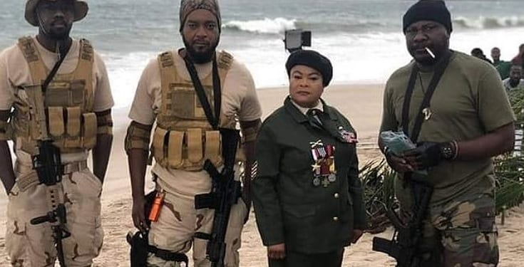 Nollywood set to release Hollywood-style action film, 'Camp Zero' (Photos)