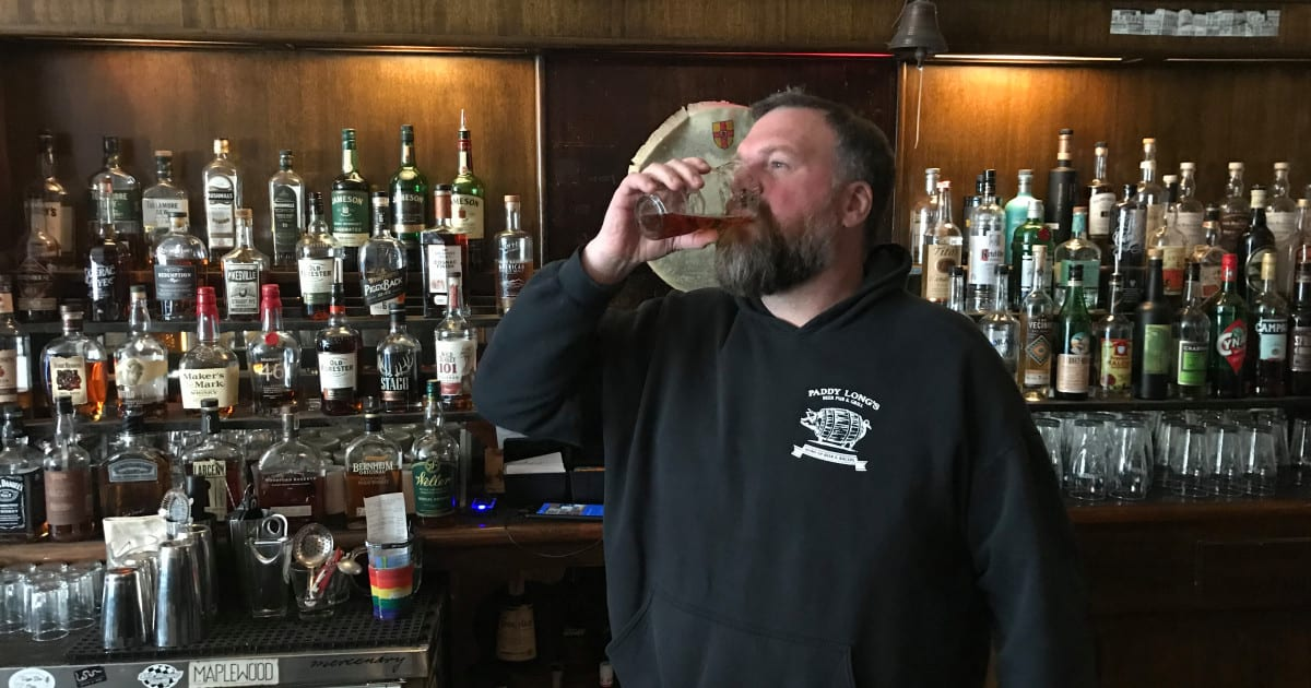 Paddy Long's Owner On A Beer-Only Fast During Lent — And He's Already Lost 18 Pounds