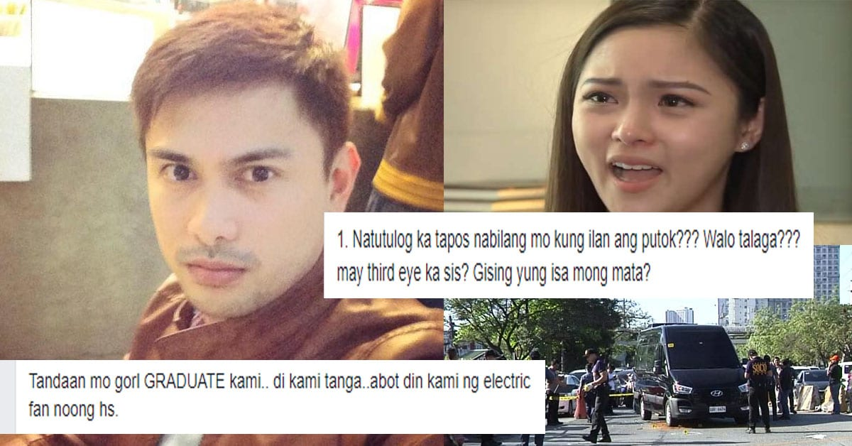 Funny gay Drew Olivar summons serious side, dissects 20 statements of Kim Chiu re ambush story, debunks actress' version of truth in patented comical style