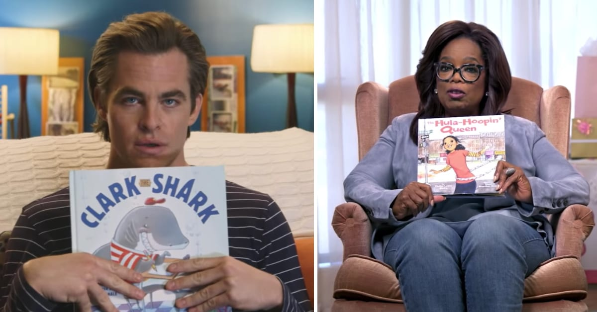 This YouTube Channel Has Celebrities That Read Aloud to Kids and I Love It