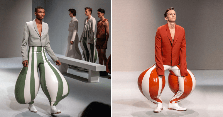 Men's Trousers 2020 Fashion Collection by London College of Style
