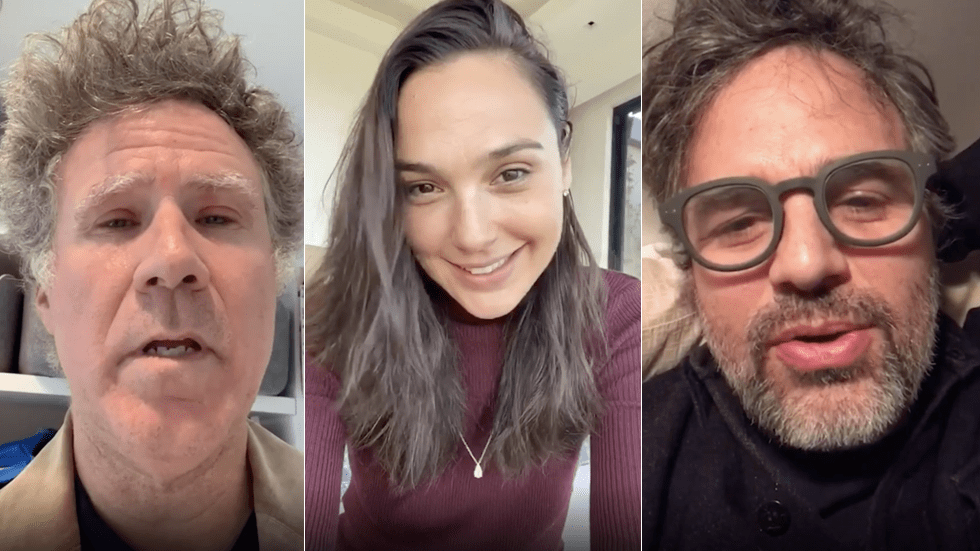 Gal Gadot joins other quarantined celebrities singing 'Imagine'