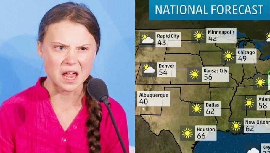 Greta Thunberg Gets Job as Weather Girl on TV Show Known for Viciously Mocking Celebrities