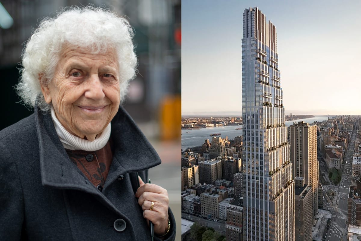 How 90-year-old widow Olive Freud reduced a Manhattan structure