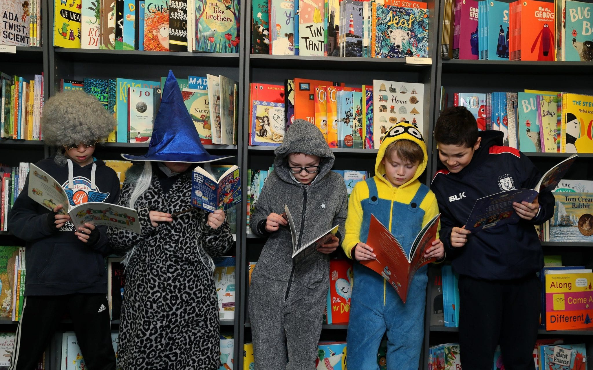 Polyester Harry Potters and empty bookshops: how World Book Day lost the plot