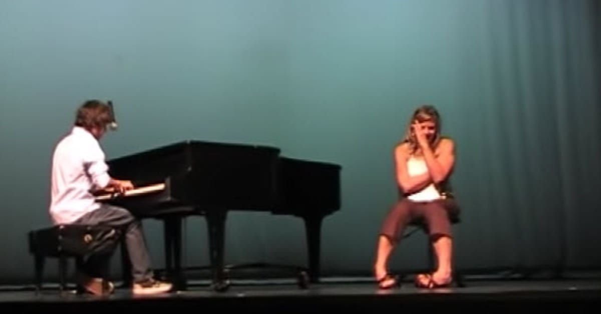 Teenage Boy Sings 'Hey Jude' In The Style Of Paul McCartney For His Teacher And Brings Her To Tears