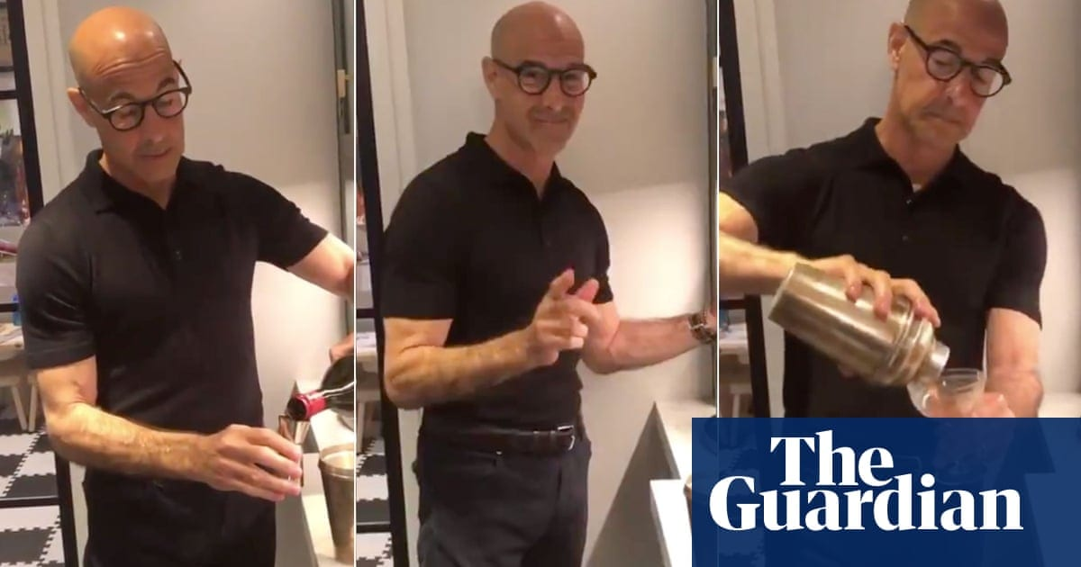 Why is Stanley Tucci making a negroni so hot? I chose to explore|Life and style|The Guardian