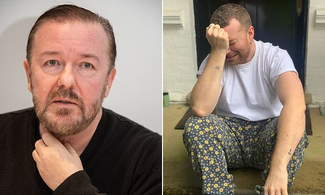 Ricky Gervais claims celebrities like Sam Smith must quit whining as a result of self-isolation|Daily Mail Online