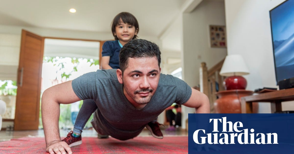 How to make a home gym from household items while self-isolating | Life and style | The Guardian