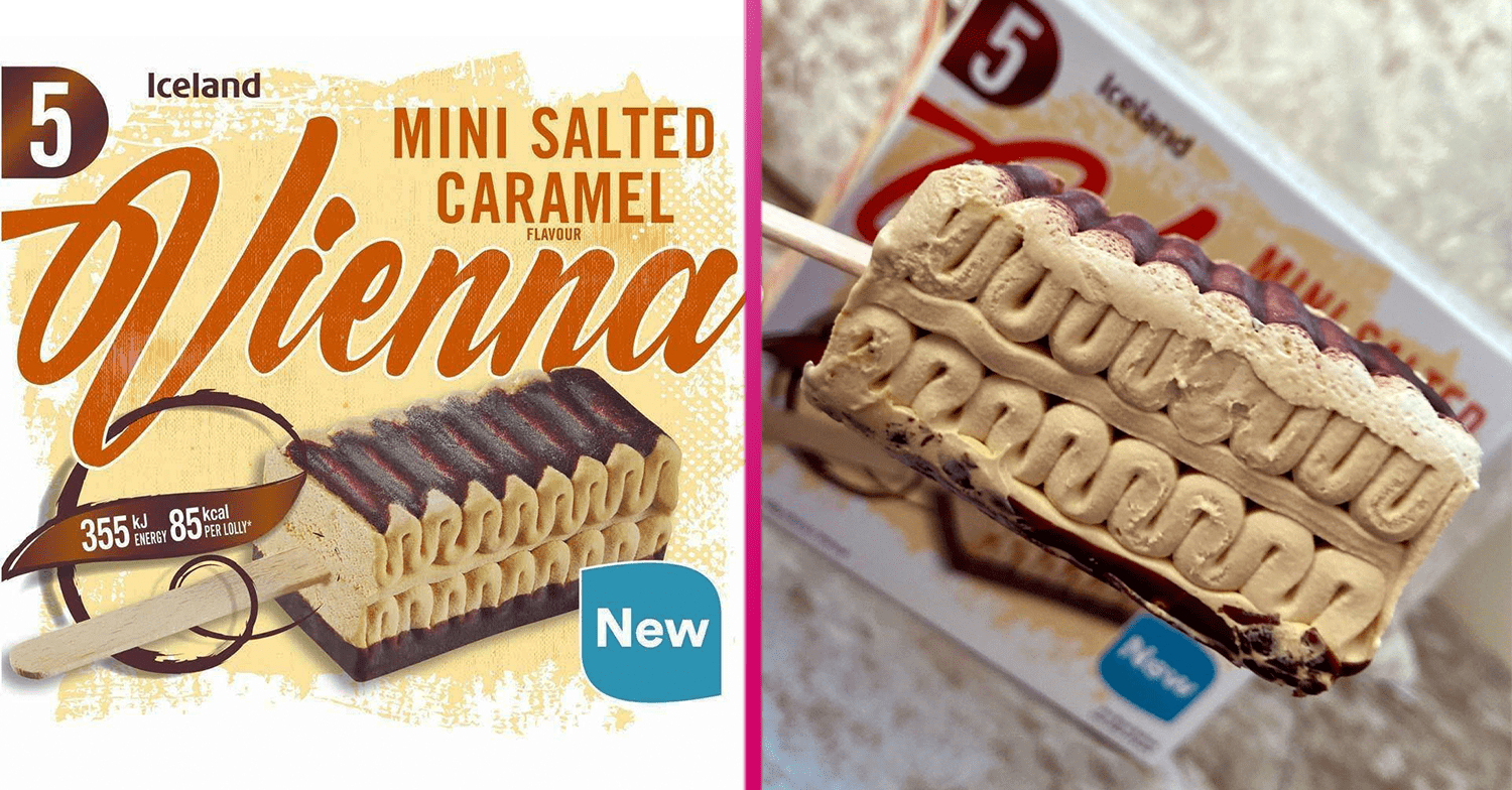 Iceland launches Salted Sugar Viennetta-style gelato sticks as well as followers claim they're 'lovely'|Home entertainment Daily