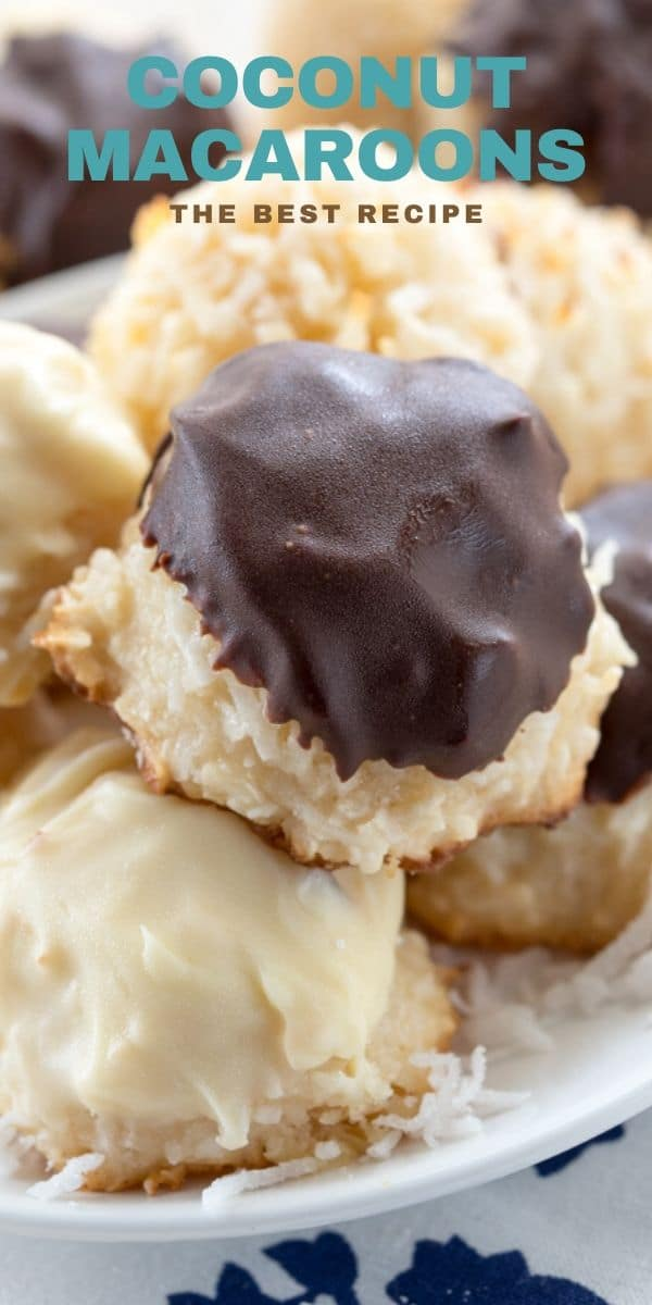 Bakery Style Coconut Macaroons – Crazy for Crust