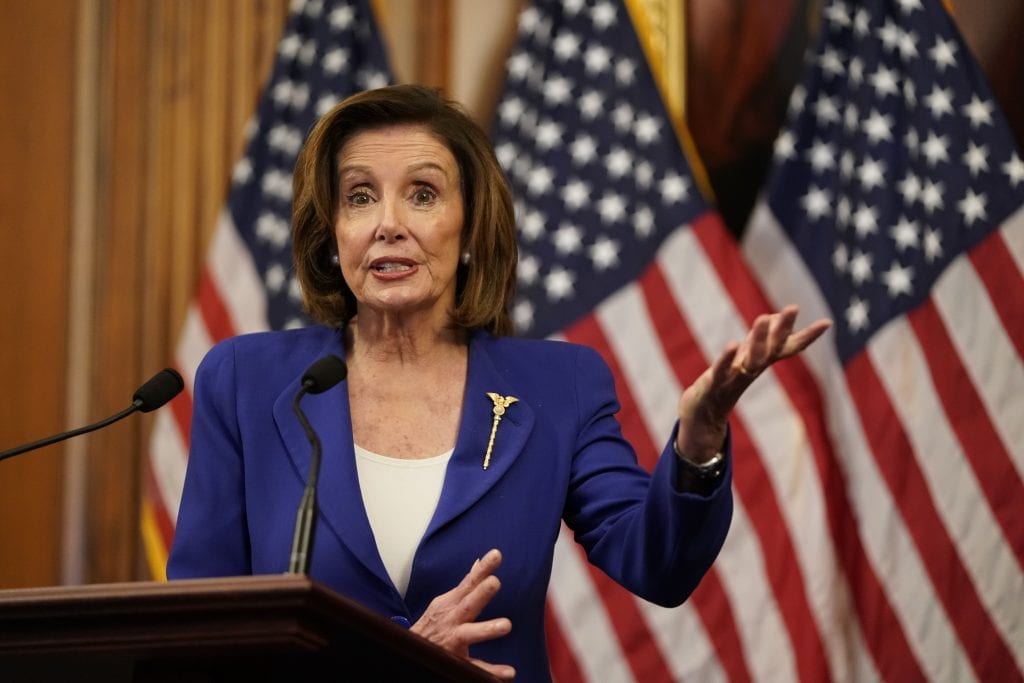 Pelosi Claims 'Businesses Will Have Money in a Timely Fashion' Despite Lending Program Drying Up