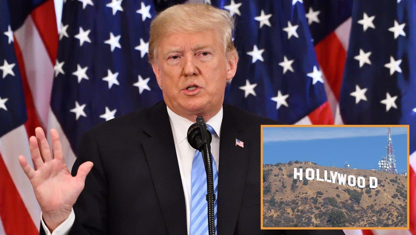 Trump Declares Lockdown Will Be Lifted For Everyone Except Hollywood Celebrities