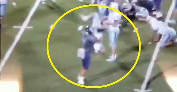 High School Player Ejected for WWE-Style Powerbomb Tackle [VIDEO] | Fanbuzz