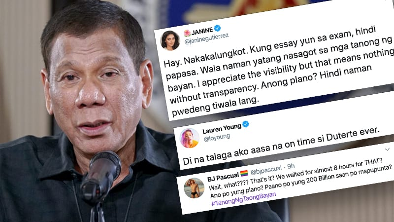'What's the strategy?' PH celebs are done with Duterte's tardiness, absence of details