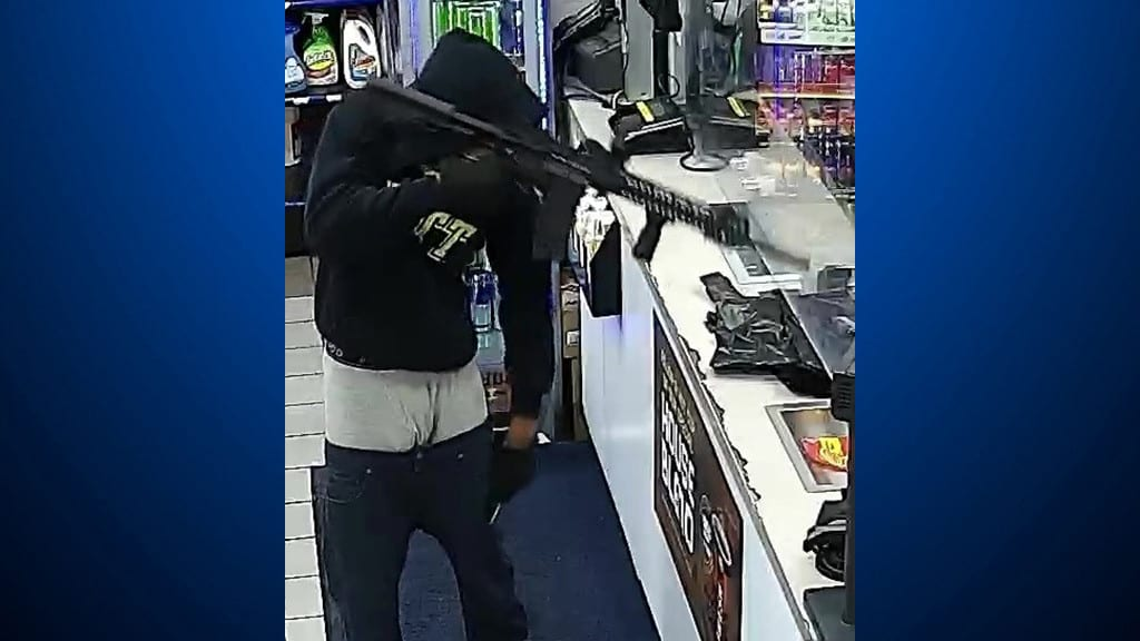 Police Seeking Help After Mt. Oliver Gas Station Robbed With AR-Style Rifle – CBS Pittsburgh