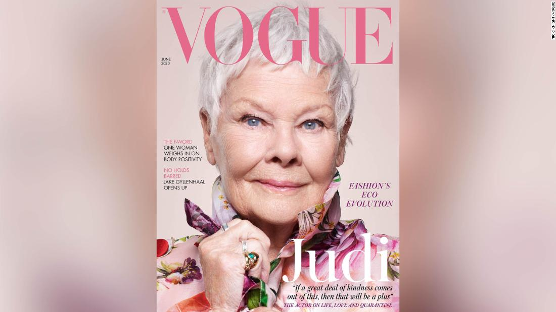 Judi Dench becomes British Vogue's oldest cover star – CNN Style