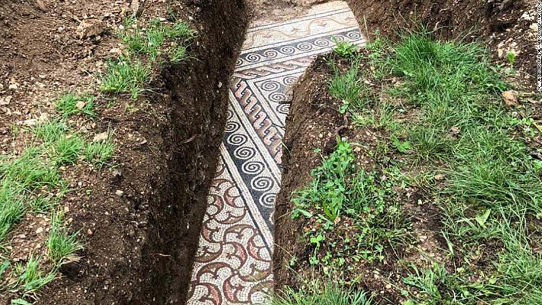 Roman mosaic flooring found below creeping plants in north Italy – CNN Style