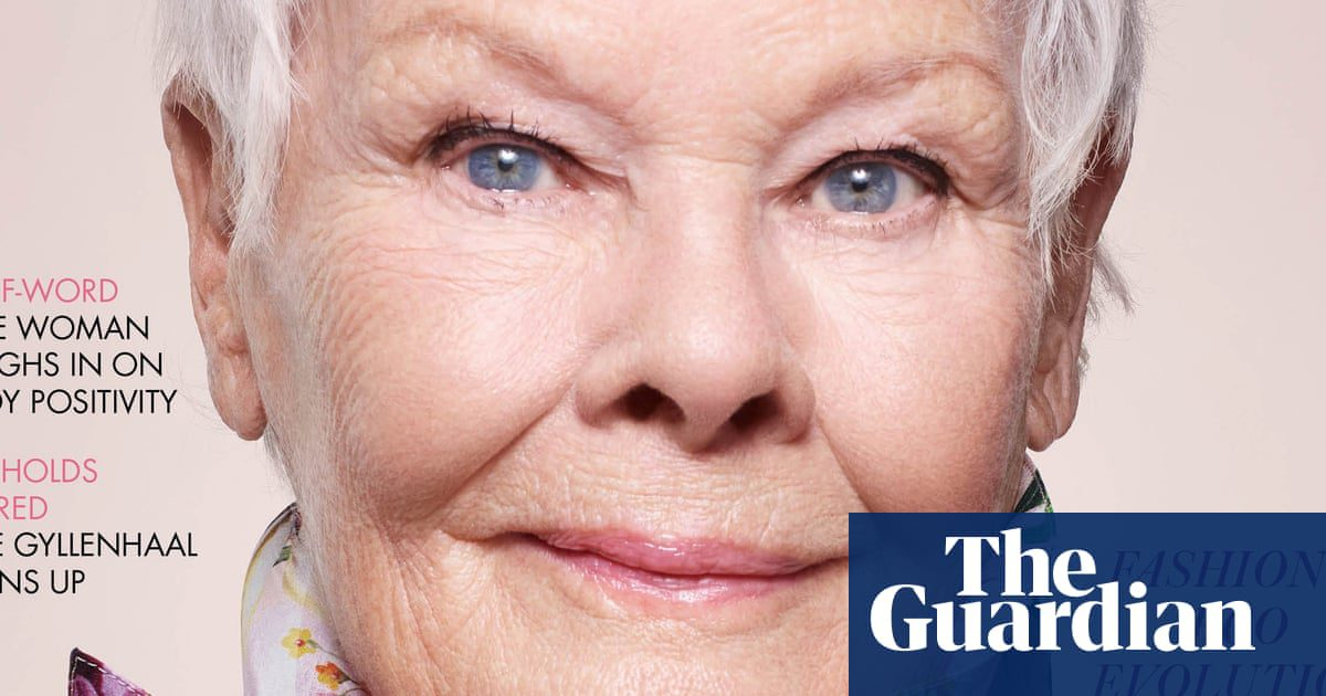 Judi Dench becomes British Vogue's oldest cover star | Fashion | The Guardian
