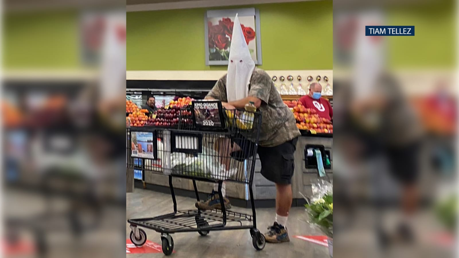 Appearance of man in KKK-style hood at San Diego County supermarket under investigation – ABC7 Los Angeles