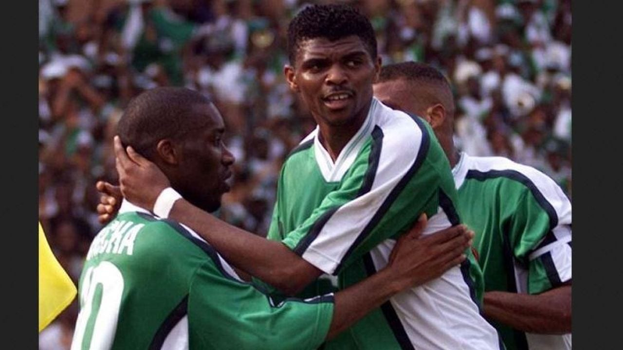 Kanu, Taribo and Babayaro were supposed to be in '94 World Cup squad – Amun – Latest Sports News In Nigeria