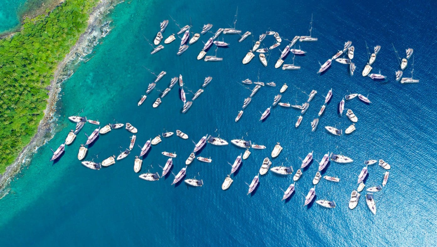 Motivating: Celebs Define 'We're All In This With each other' With Their Yachts