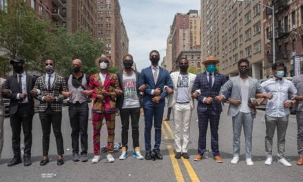 In Harlem, a Group of Black Men Pays Their Respects to George Floyd in Impeccable Style | Vogue