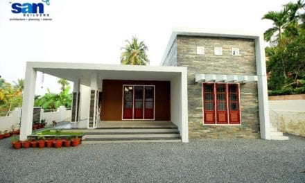 1616 Sq Feet 3BHK Contemporary Style Single-Storey Residence and Free Strategy – Home Pictures