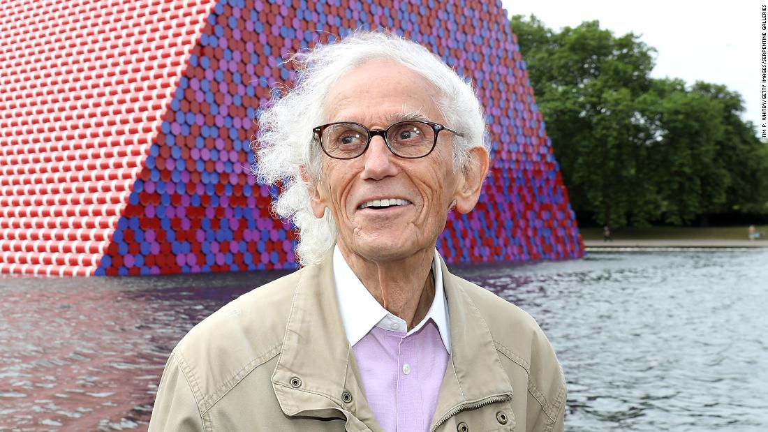 Christo: artist who made monumental art around the world, has died at 84 – CNN Style