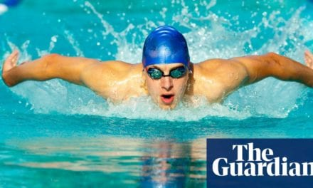 Stroke of luck: how Covid-19 got butterfly banned from English pools   Life and style   The Guardian