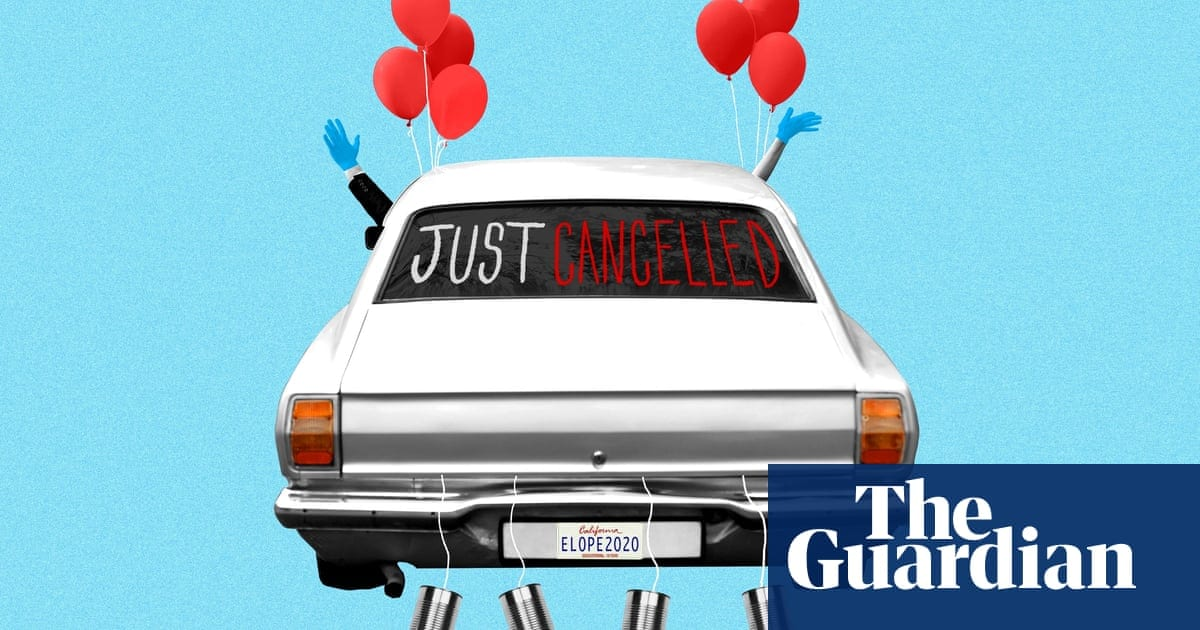 Your wedding's been cancelled by the coronavirus lockdown? Good | Life and style | The Guardian