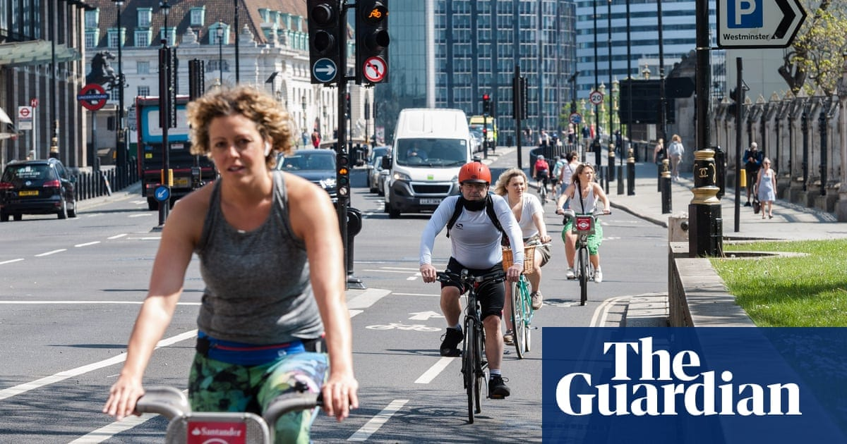 Two wheels good … Bike sales soar as UK takes to cycling | Life and style | The Guardian