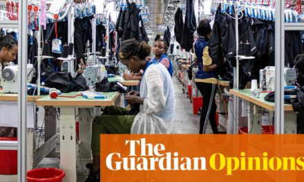 Racism is at the heart of fast style– it's time for change|Kalkidan Legesse|Worldwide advancement|The Guardian