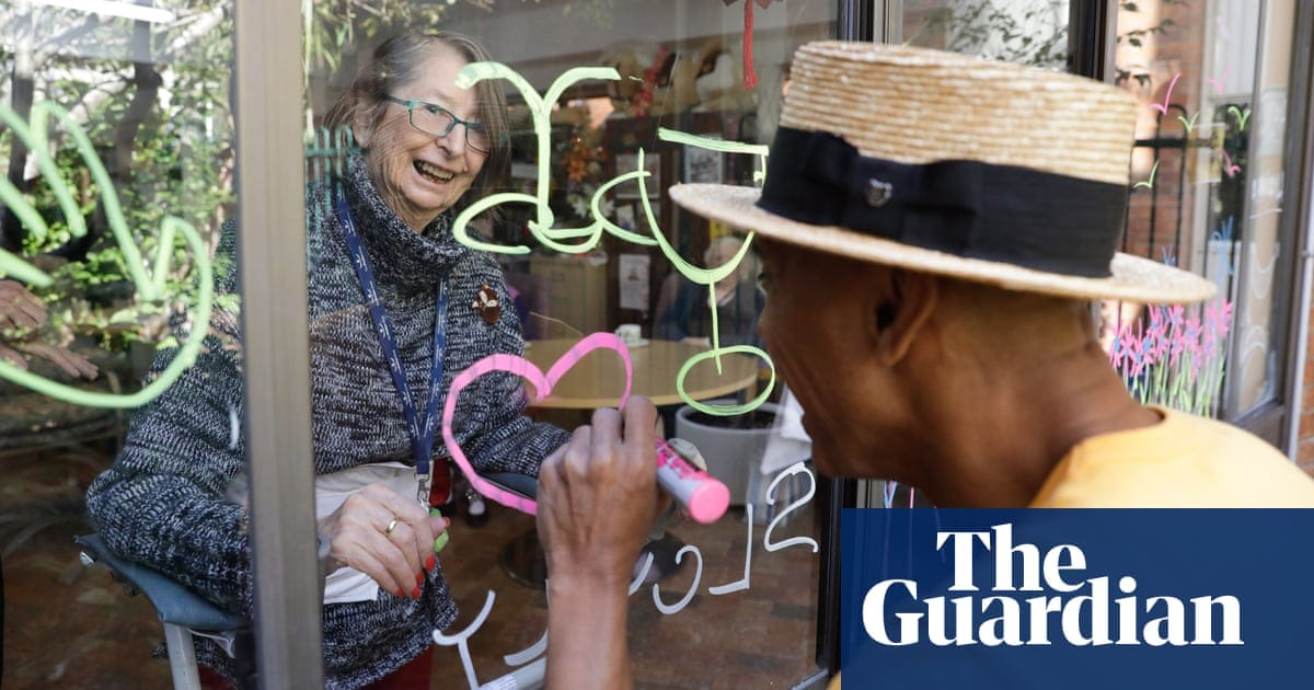 'The first reaction was simply joy': home window treatment brings light to aged care citizens|Life as well as design|The Guardian