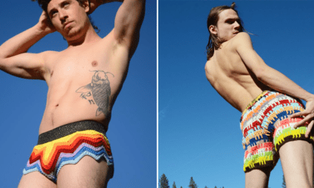 2020 Summer's Hottest Men's Fashion Trend: Crochet Shorts!